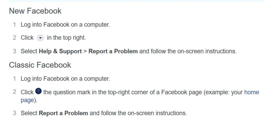 Follow these steps to report a stealth advertiser to Facebook.