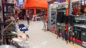 Sklepy muzyczne wewnątrz Centro Commercial Plaza 2 del Mayo