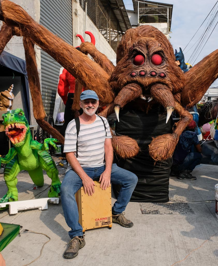 Spiderlike Anos Viejos in Guayaquil