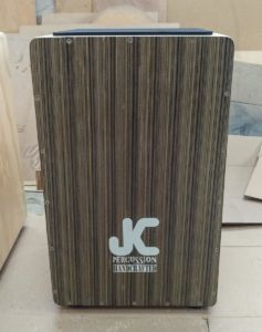 JC Percussion cajon made in Colombia