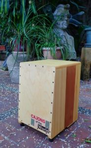Firebox Cajon solid wood cajon