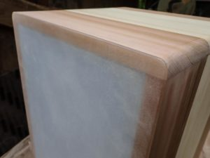 Polycarbonate cajon back